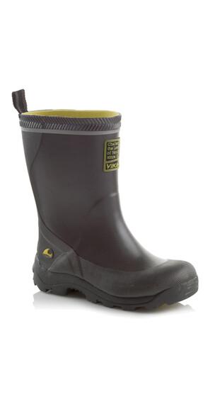 Viking Footwear Storm Kalosze Dzieci szary/czarny